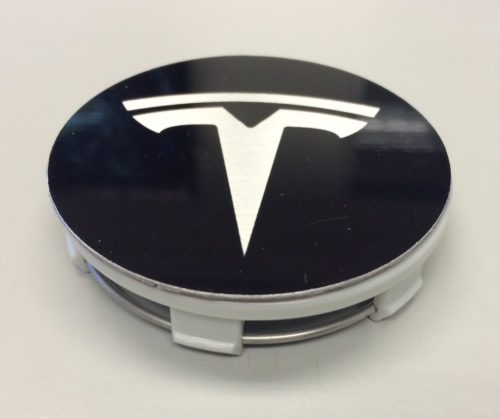Tesla Logo Wheel Caps