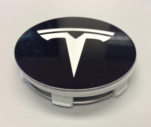 Tesla Logo Wheel Caps