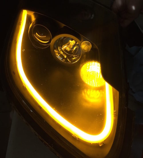 Upcycle Headlight Tube
